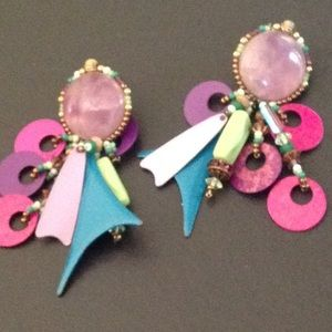 Chipita pierced earrings